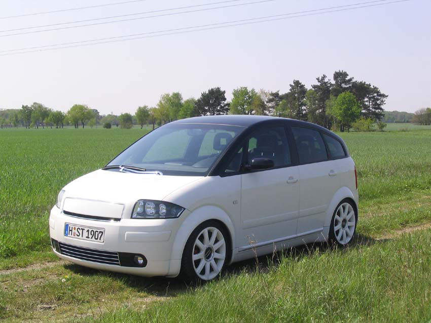 White Audi A2 Audi A2 Owners Club